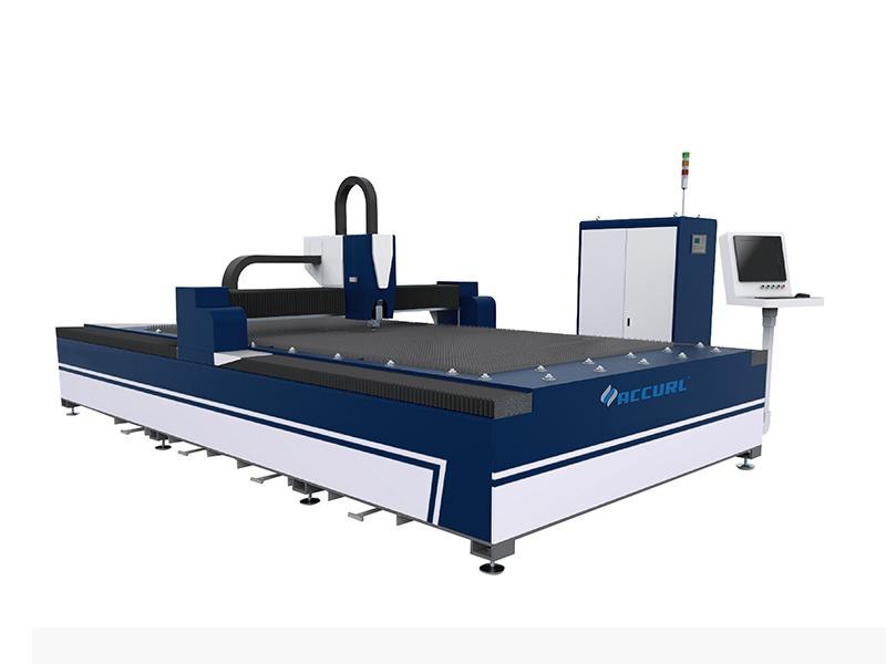 China Cele mai renumite din punct de vedere economic cele mai ieftine preț de tăiat cu laser cu fibră QIGO pentru tăierea foilor metalice